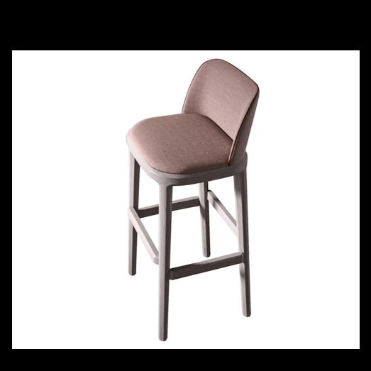 damble pusbario kėdė